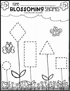 spring math and literacy printables and worksheets for pre k and kindergarten kindergarten