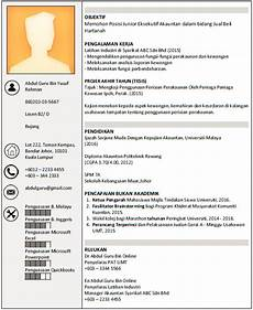 contoh curriculum vitae malaysia 2017