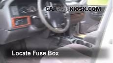 Interior Fuse Box Location 1993 1998 Jeep Grand
