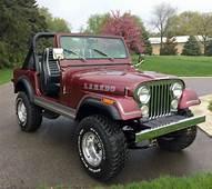 1981 Jeep CJ7 Laredo ALL Original  Classic CJ
