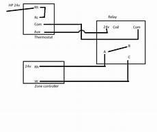 heat relay wire diagram heat w boiler 2 transformer thermostat wiring doityourself community forums