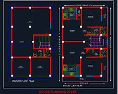 autocad house plans free download house planning floor plan 20 x40 autocad file autocad