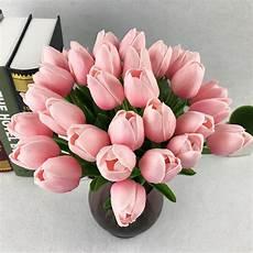 immagini di fiori da stare tulip pu artificial silk tulips artificiales bouquets
