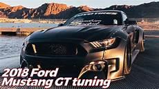 2018 Ford Mustang Gt Tuning Black Fury Widebody
