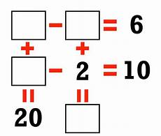 system of equations puzzle puzzles math easy solutions