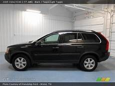 black 2005 volvo xc90 2 5t awd taupe light taupe