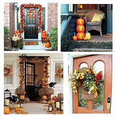 Decorations For Outside Of House by It S Written On The Wall 90 Fall Porch Decorating Ideas