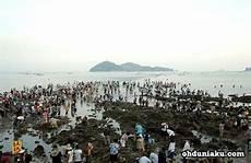 Laut Terbelah 2 Di Korea Gambar Keajaiban Allah Swt Di