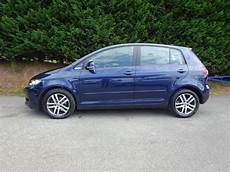 used shadow blue vw golf plus for sale herefordshire