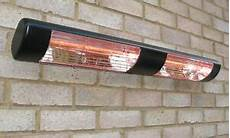 electric infrared halogen patio heater wall mounted dual