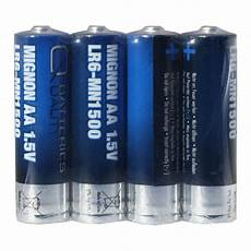 q batteries mignon aa lr06 1 5v alkaline batterien 4er folie
