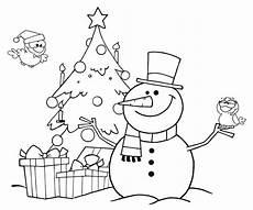 Ausmalbilder Weihnachten Schneemann Ausmalbild Weihnachten Kostenlose Malvorlage Schneemann