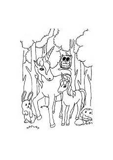 Malvorlage Baby Einhorn Ausmalbild Einhorn Fabelwesen Einh 246 Rner Unicorn