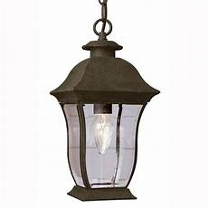 bel air lighting wall flower 1 light outdoor hanging weathered bronze lantern with clear glass