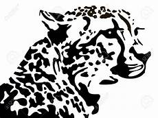leopard silhouette heads vectors search with
