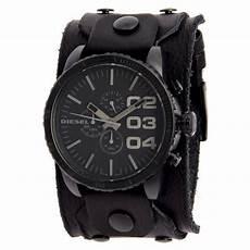 montre bracelet cuir large montre diesel dz4272 bracelet de achat vente montre