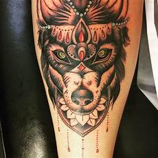 95 best tribal lone wolf tattoo designs meanings 2019