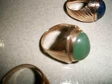 Collectible Items 3 Pieces Vintage Gold Rings 3
