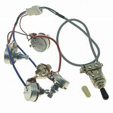 genuine lp pickups wiring harness with full size pots for