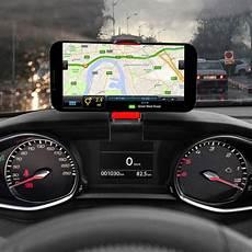 support voiture tableau de bord avec clip universel