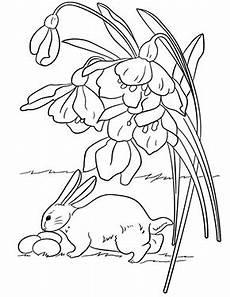 Ausmalbilder Osterhase Mit Eier Ausmalbilder Ostern Ausmalbild Osterhase Findet Eier Zum