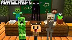 ich bin lehrer in der monsterschule in minecraft