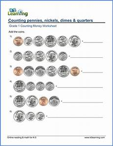 free printable money worksheets for year 1 2772 1st grade counting money worksheets free printable k5 learning