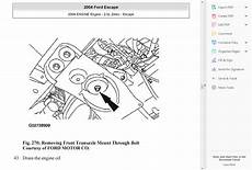 service repair manual free download 2000 ford escape engine control official workshop service repair manual ford escape 2000 2006 wiring diagrams ebay