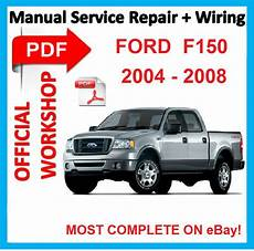 car repair manuals online pdf 2008 ford f250 instrument cluster official workshop manual service repair for ford f 150 f150 2004 2008 wiring ebay
