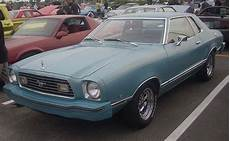 ford mustang second generation wikipedia