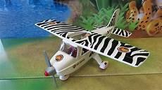 playmobil 6938 safari flugzeug mit allen details