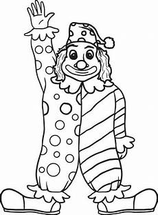 free printable clown coloring page for supplyme
