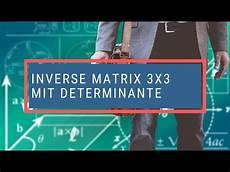 inverse matrix 3x3 mit determinante
