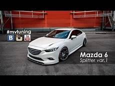 Tuning Mazda 6 Splitter For Skyactivsport Fangs Var 1