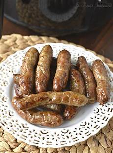 how to make breakfast sausage links in an airfryer featuring niman ranch uncured pork