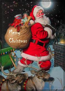 20 great santa claus animated christmas wishes gif images to share