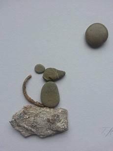 Bild Aus Kieselsteinen Maus Tamikra Auf Dawanda