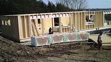 maison passive pas cher le chantier d une maison passive 224 ossature bois de a 224 z