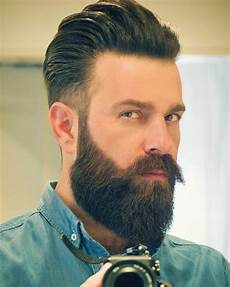 Hair Style With Beard