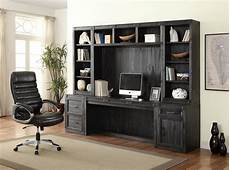 home office furniture wall units hudson home office desk wall unit by parker house furniture