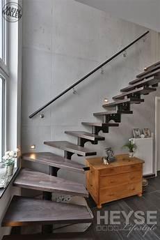 betonoptik schöner wohnen betonoptik rostoptik sch 246 ner wohnen treppenhaus