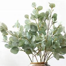 aliexpress buy 90cm artificial eucalyptus leaf green