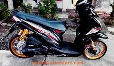 Modifikasi Beat Fi 2018 by Modifikasi Motor Beat 2018 Warna Hitam Kumpulan Gambar