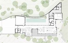 modern hillside house plans living roof on slope house merges beautifully with