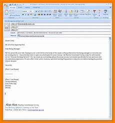 8 sending resume email sle writing a memo