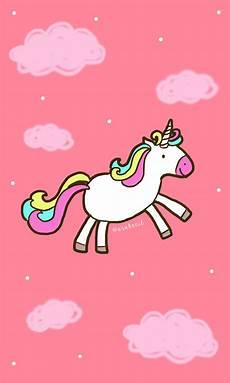Gambar Kartun Unicorn Lucu Untuk Wallpaper Wallpapershit