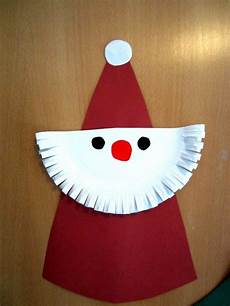 Basteln Weihnachten Kindergarten - make characters from paper plates craft