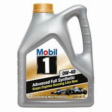 mobil 1 new 0w 40 fully synthetic motor carsnb