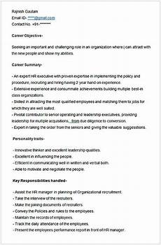 sle resume for hr executive hr manager resume sle this hr manager resume sle