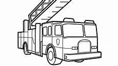 Gratis Malvorlagen Feuerwehrauto Print Educational Truck Coloring Pages